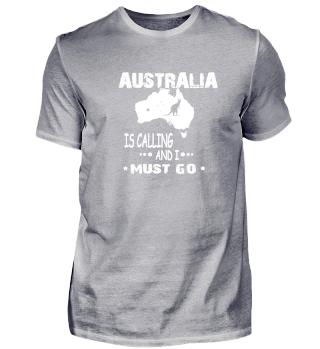 Australia ist calling an i must go