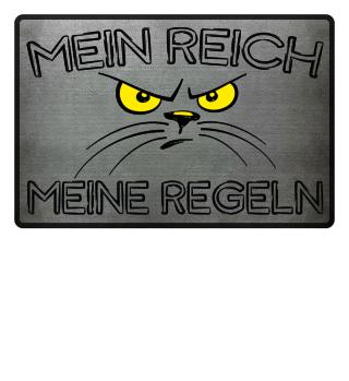 Mein Reich | Katzen, Fußmatte