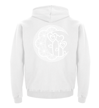 ★ Half Moon Mandala - Love Hearts 2