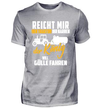 Landwirt - Traktor ihr Narren - Gülle