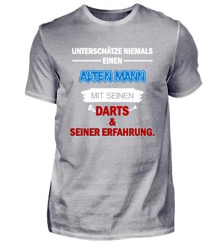 Unterschätze niemals einen Dartspieler.