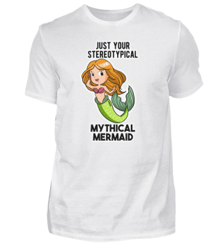 Meerjungfrau Mädchen Mermaid Geschenk