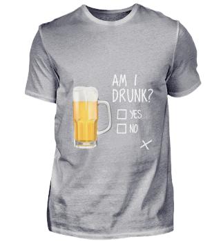 D010-0373A Bier - Beer am I drunk