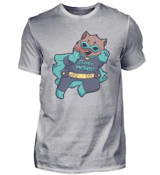 Wombat superhero costume Australia