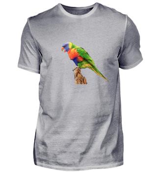 Allfarbenlo Shirt Geschenk Vogel