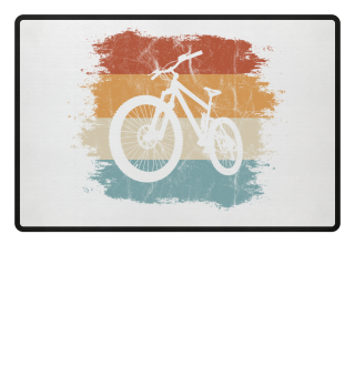 Retro Vintage Biking MTB Mountain-Bike