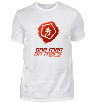Standard Supporter OneManOnMars Logo