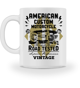 ☛ American Custom Motorcycle · Vintage #1.4