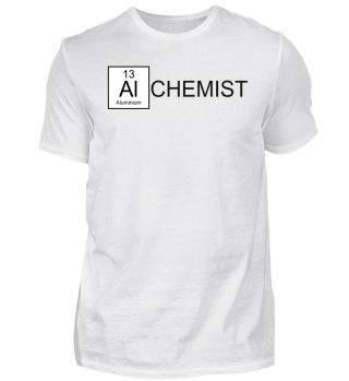 Chemical Elements - Alchemist - schwarz
