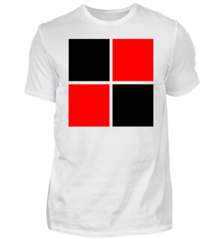 schwarz rotes Logo Design Trikot