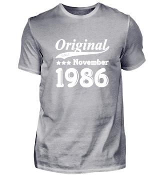 Original Since November 1986
