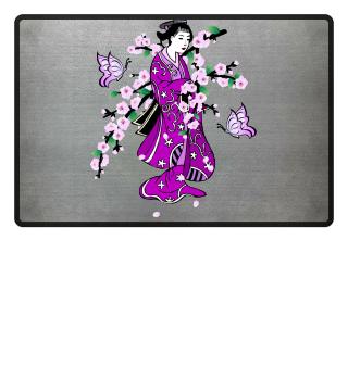 ♥ Cherry Blossom - Geisha Butterfly 1