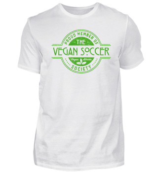 Vegan Soccer Athlete Society Gift