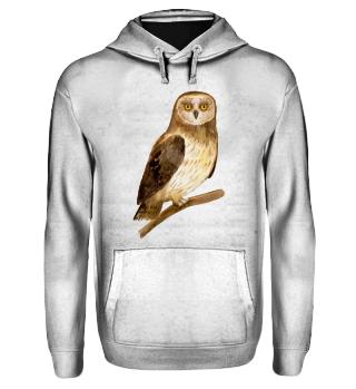 ☛ Eule · Owl
