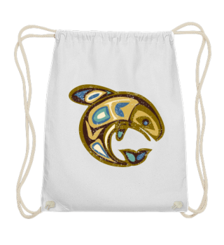 ★ Native American Totem Orca Whale 2