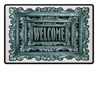 ★ Vintage Frame Mirror - welcome III