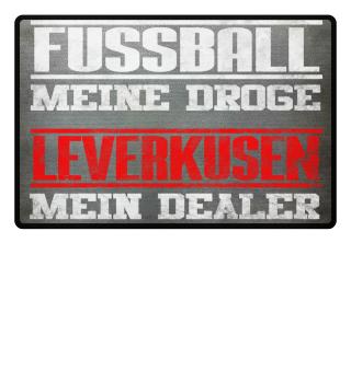 Leverkusen Fußmatte Fußball Fan Geschenk