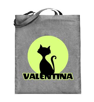 Valentina Vorname Tasche Beutel Katzen