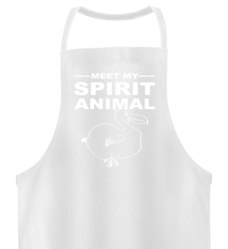 Meet Spirit Animal - dodo bird - white