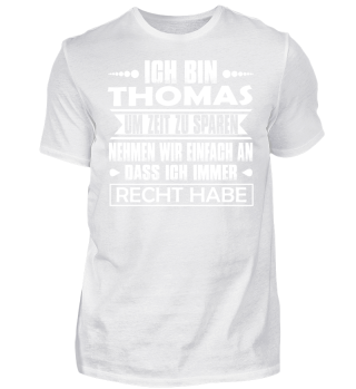 Thomas - Ich habe immer Recht