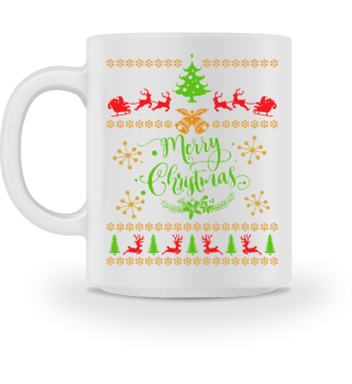 UGLY CHRISTMAS DESIGN - STRICKMUSTER #7.18