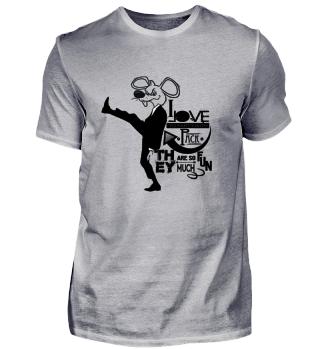 Ratten T-Shirt Schurke Rattenmeute