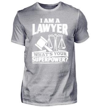 Lawyer Attorney Shirt I Am A