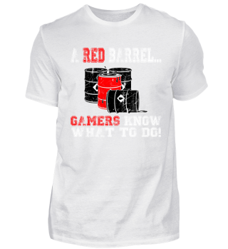Gamer Shirt - Red Barrel