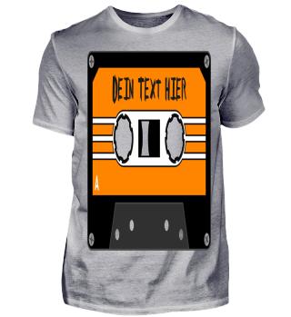 MIXTAPE orange - DEIN TEXT 1