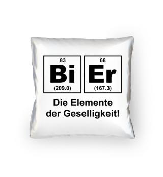 Chemiker Bier - Kissen
