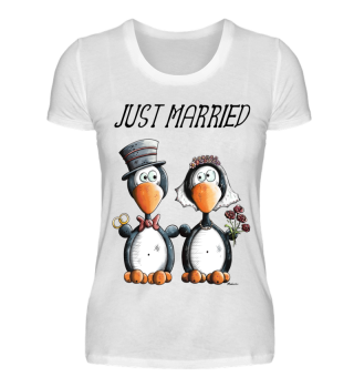 Just Married Pinguine - Hochzeit