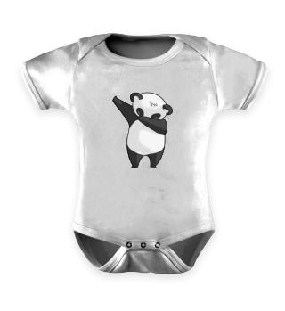Cute Dabbing Dancing tanzender Panda Pandabär Bär