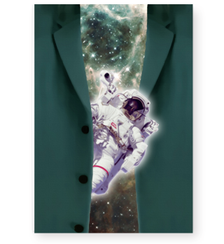 ★ Astronaut looks out of a jacket II