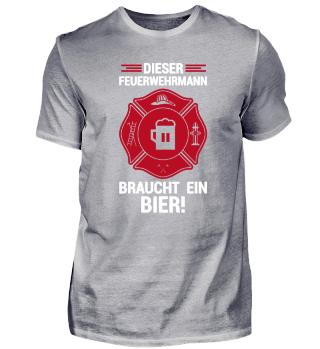 Geschenk für Feuerwehrmänner