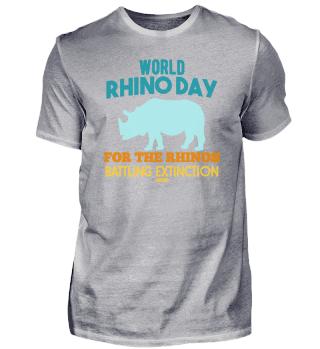 World Rhino Day Nashorn Afrika Safari
