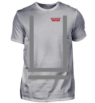 Bauhof Weber Shirt (Graue Streifen)