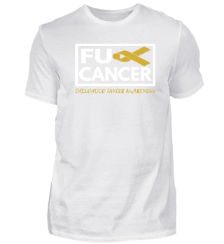Fck Cancer Shirt choldhood cancer