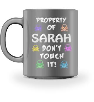 Property of Sarah Mug