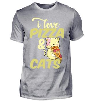 I love pizza & cats