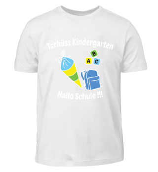 T-Shirt Einschulung Kindergarten Schule