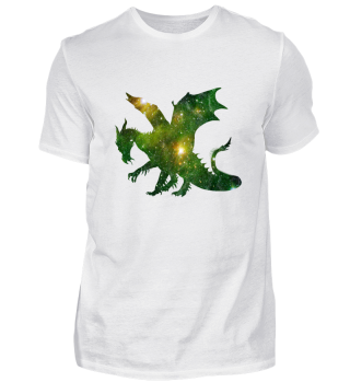 Space Dragon / Drache Sterne Weltall