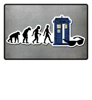 EVOLUTION Of Humans - Police Box IX