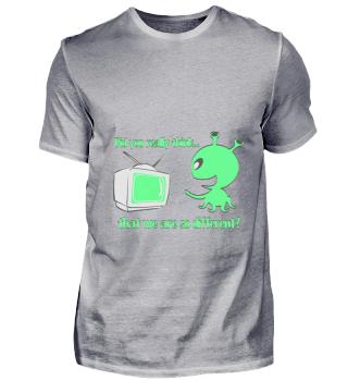 Funny Alien Shirt