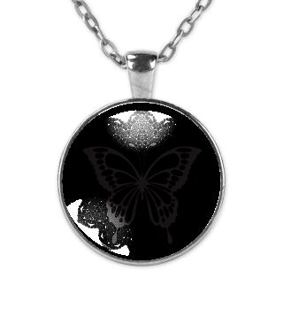 ♥ Vintage Mandala I Butterfly I black 2