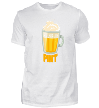 Vater Sohn Partnerlook Bier Pint Shirt