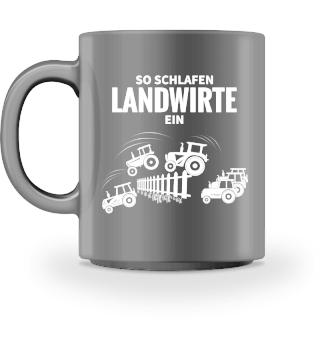 Tasse - Landwirte schlafen