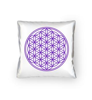 Blume Des Lebens - original purple