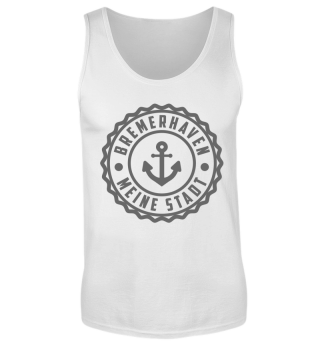 Bremerhaven Tank Top White