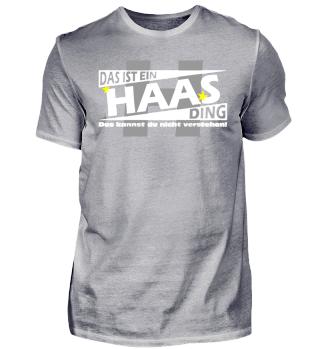 HAAS DING | Namenshirts
