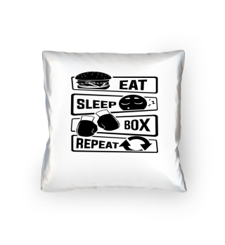 Eat Sleep Box Repeat - Boxing Uppercut